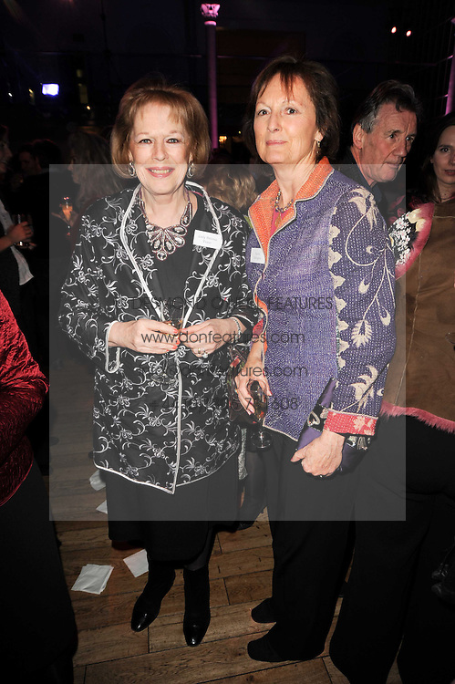 Left to right, sisters LADY ANTONIA FRASER and LADY RACHEL BILLINGTON at the annual Orion Publishing Group's Author party held in the Paul Hamlyn Hall, The Royal Opera House, Covent Garden, London on 22nd February 2010.