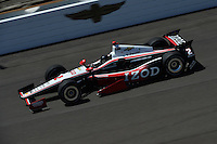 AJ Allmendinger, practice for the Indianapolis 500, Indianapolis Motor Speedway, Indianapolis, IN USA 05/26/13