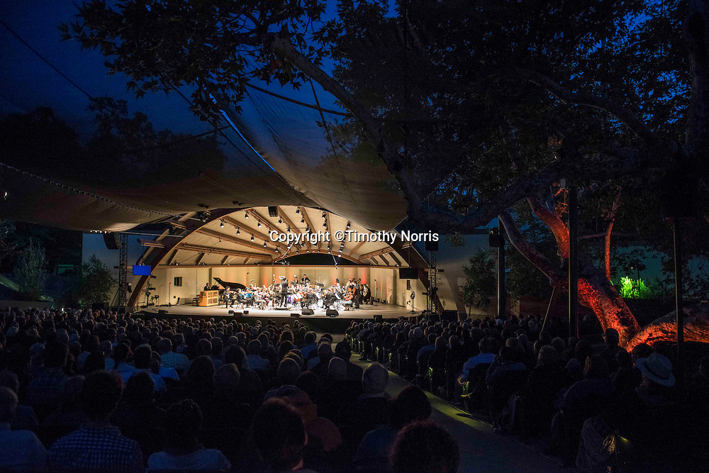 The Knights, conducted by Eric Jacobsen, perform works by Luigi Boccherini, Charles Ives, Morton Feldman and Karlheinz Stockhausen at the 68th Ojai Music Festival at Libbey Bowl on June 14, 2014 in Ojai, California.