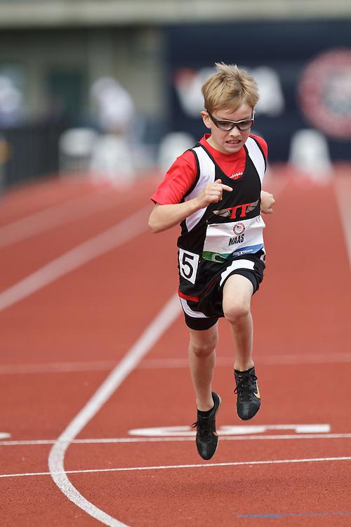 Olympic Trials Eugene 2012: 100 meter Bantam race, Jack Maas