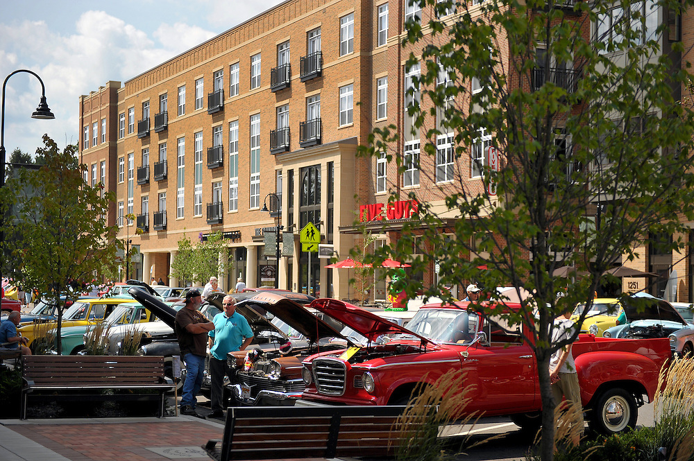 Aug. 7, 2010; South Bend, IN, USA; Car show on Eddy St...Photo by Matt Cashore