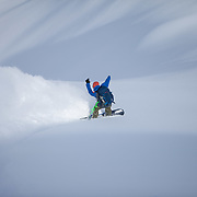 Backcountry, Snowboard, powder, British Columbia, Winter, Snow