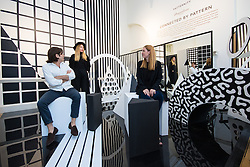 Somerset House, London, September 21st 2015. Pictured: Connected by Pattern, a collaboration by Paternity at Somerset House as part of the London Design Festival which runs between September 19th and 27th with a series of artworks and installations created through the collaborations of internationally renowned designers and brands.  // Contact: paul@pauldaveycreative.co.uk Mobile 07966 016 296