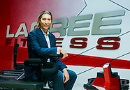 Portrait of fitness guru Sebastien Lagree.