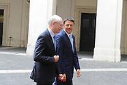 20140618 - Visita Herman Van Rompuy, Matteo Renzi  Palazzo Chigi Roma