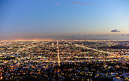 Los Angeles Lights, from Griffith Park Observatory, Los Angeles, California