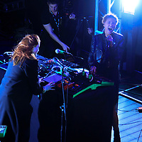 Icona Pop performing at The Warner Sound captured by Nikon at The Belmont  during SXSW 2013 on March 12, 2013.