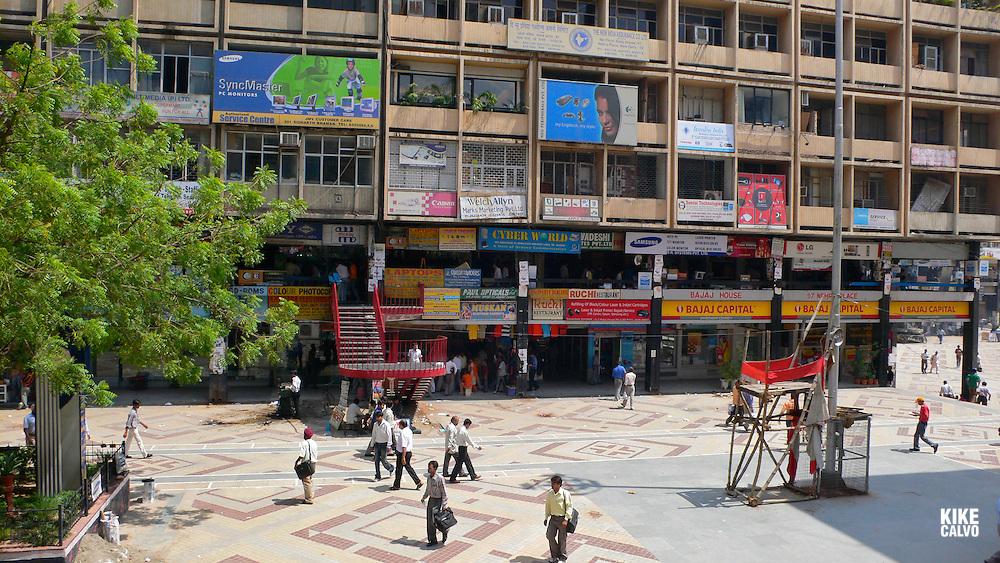 Downtown New Delhi