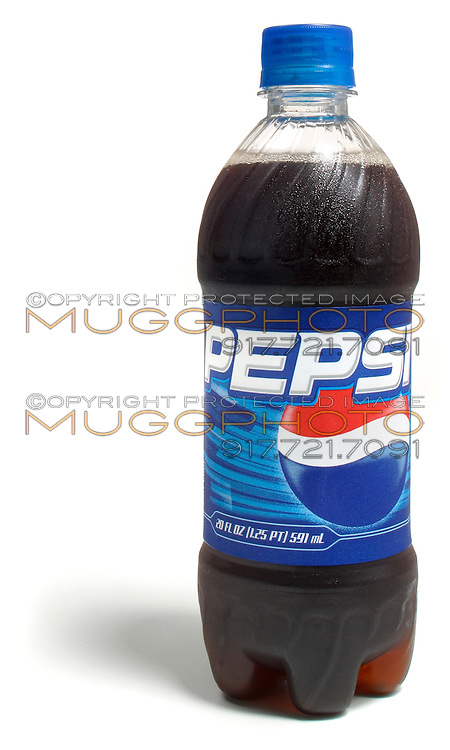 pepsi 20 oz bottle with the old logo