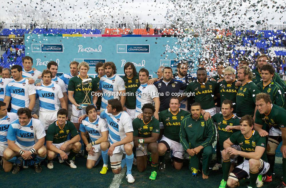 Argentina v South Africa at Estadio  Malvinas Argentinas - Mendoza - Argentina - The Rugby Championship 2012 -Photo Martin Seras Lima