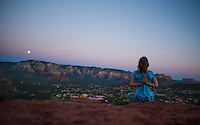 Heather Shereé at Sugarloaf, Sedona