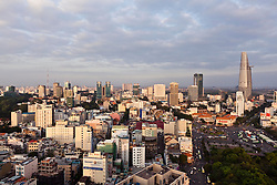 Skyline of Ho Chi Minh City, Vietnam, Southeast Asia