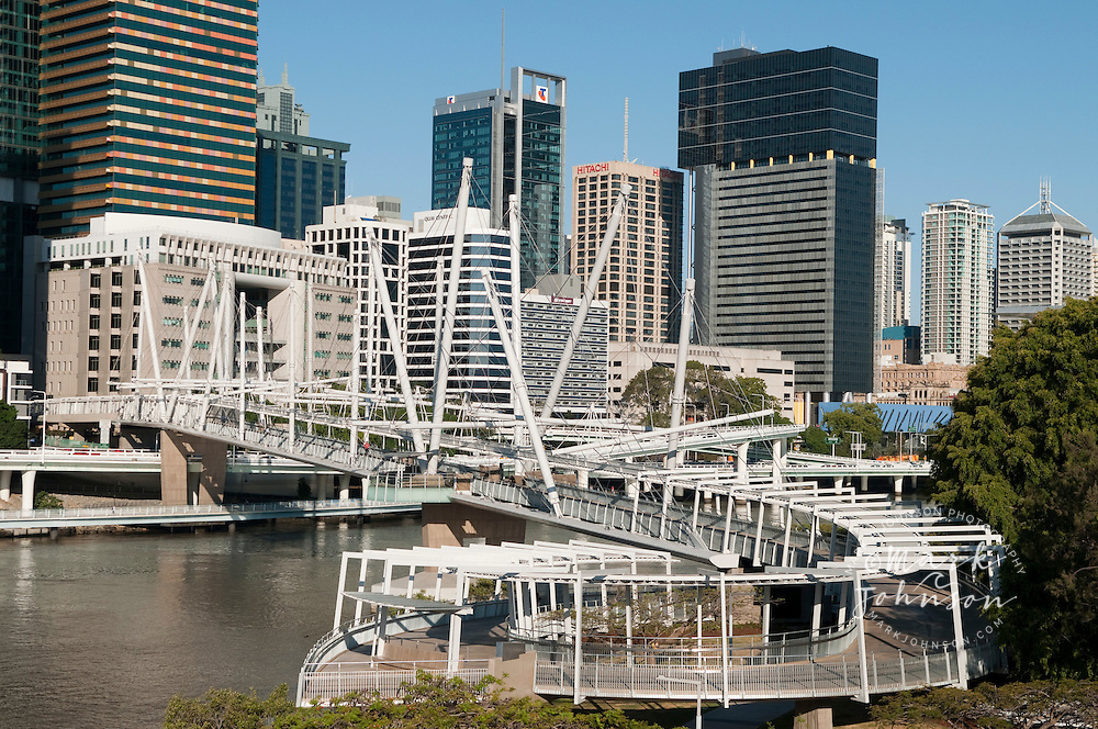Kurilpa Bridge, Brisbane, Queensland, Australia