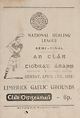 17.04.1955 National Hurling League Semi-Final