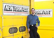 """Jonathon """"J"""" Stone, Fellow with the Environmental Defense Fund. Jonathon Stone of the Environmental Defense Fund consulting for the NewsCorp printing plant in Bronx, New York."""