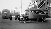 Muni Streetcar 101 and Bus 1 | Circa 1920