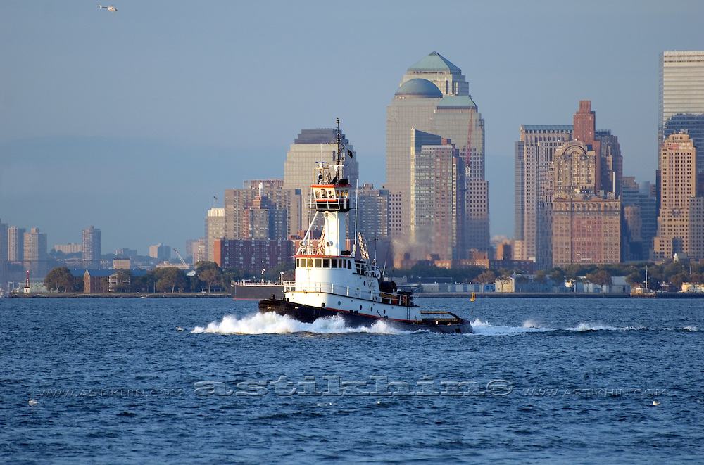 Tugboat in New York