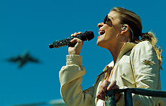 LeAnn Rimes sings US National Athem at 2012 Toyota Grand Prix