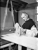 1954 - Mount St Joseph, Roscrea, Silk Spinning