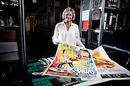 Frankfurt am Main | 18.04.2011..Claudia Dillmann (55), Direktorin Deutsches Filmmuseum, in einem Archiv des Museums...©peter-juelich.com..[No Model Release | No Property Release]