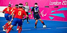 LONDON 2012 PARALYMPICS 5-A-SIDE FOOTBALL