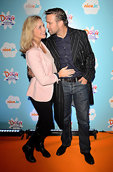 Debbie Flett and Stefan Booth  attend Dora and Friends TV Premiere at Empire Leiceter Sq, London on Sunday 2.11.2014