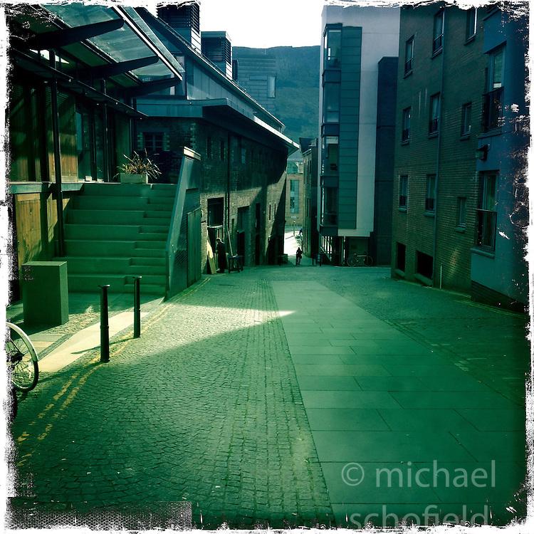 Edinburgh..Hipstamatic images taken on an Apple iPhone..©Michael Schofield.
