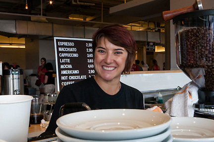 Capitol Hill residents will find many familiar faces behind the counters of the Union Market.