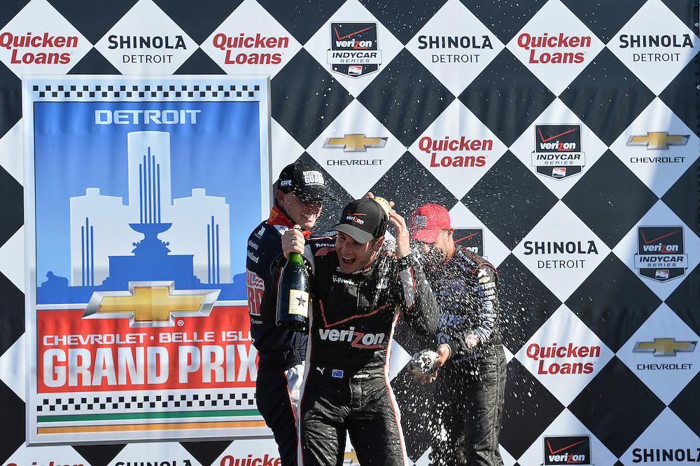 Will Power wins Duel #1, Raceway at Belle Isle Park, Detroit, MI USA 6/1/2014