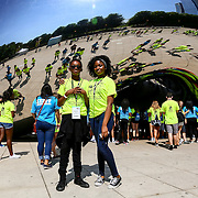Camp Cardinal Explorers visit Millennium Park during RBC 2016 Chicago. Photo by Alabastro Photography.