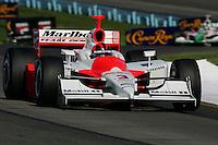 Helio Castroneves at Watkins Glen International, Watkins Glen Indy Grand Prix, September 25, 2005