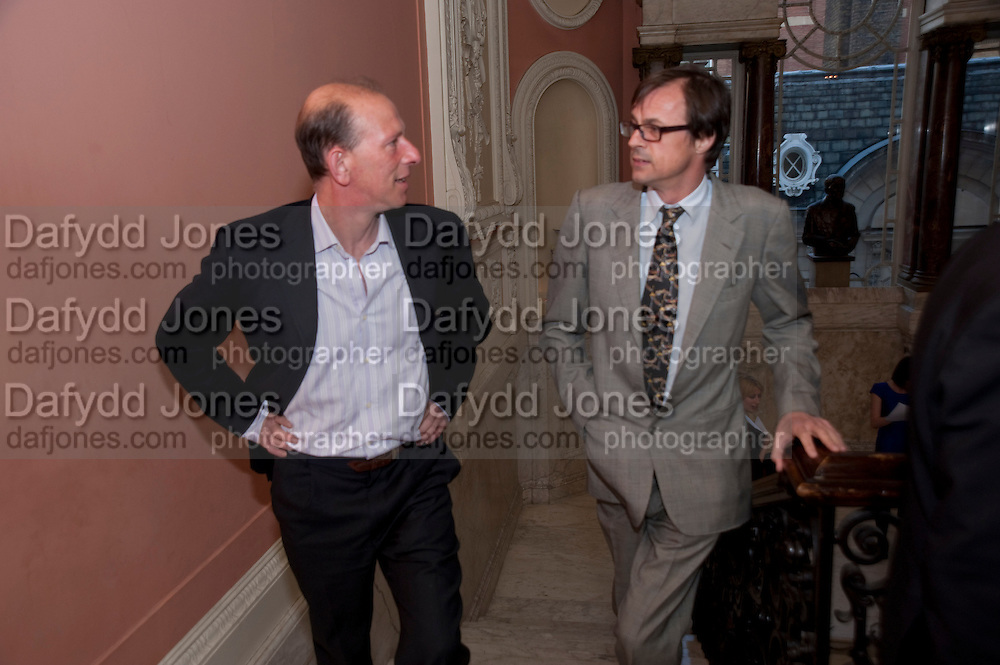 WILLIAM SIEGHART; RODDY CAMPBELL, Nicholas Coleridge celebrates the publication of his novel; Deadly Sins. Dartmouth House, Charles St. London. 28 April 2009