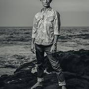 Tiki artist Brad Parker. Kona, Hawaii   Hana Hou! Magazine