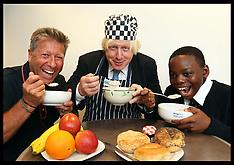 SEP 08 2013  Boris Johnson launches London's Biggest Breakfast