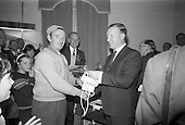 1966 - Awards presentation for European Sea Angling Championship at Howth