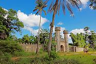 Entry to Parque Nacional la Guira, Pinar del Rio Province, Cuba.