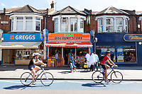 A walk through South London - Image by Christopher Holt of London England UK
