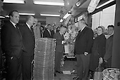 1963 - Jimmy O'Dea opens new 5 Star Supermarket in Crumlin, Dublin
