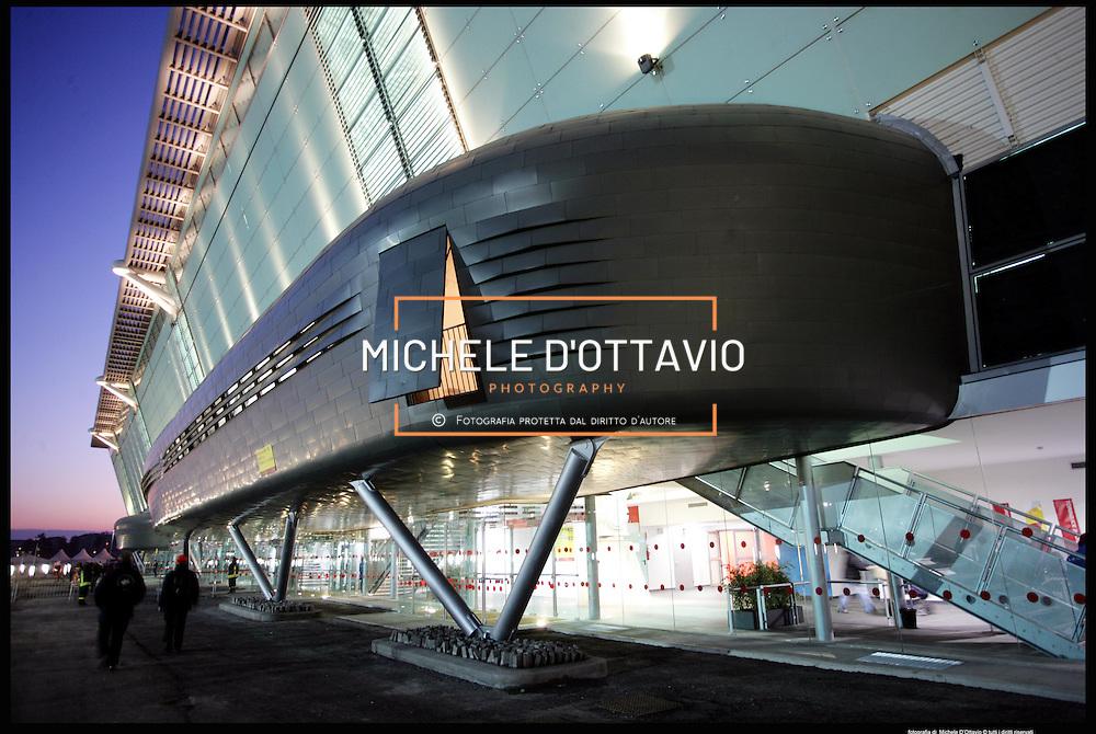 Torino architettura olimpica..Oval Lingotto..