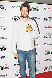 Curzon Bloomsbury, London, December 14th 2016. Celebrities attend the launch of Amazon Prime's European premiere for Season 2 of The Man In The High Castle. PICTURED: Tom Ransley