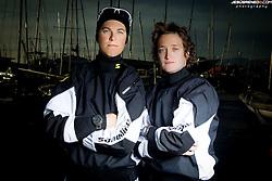 Palma de Mallorca, Spain,  olympic sailing, Spanish female team 470 :Marina Gallego, Fátima Reyes, photo Jesus Renedo, © Jesús Renedo