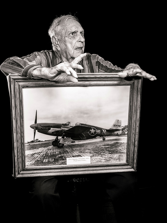 Billy D. Welch flew 83 combat missions as a fighter pilot, and in November of 1944 was assigned to Scotland to train new fighter pilots how to fly the P-51.  He has been a flight instructor since then, a period of 72 years.