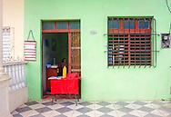 Juice stand in Moron, Ciego de Avila, Cuba.