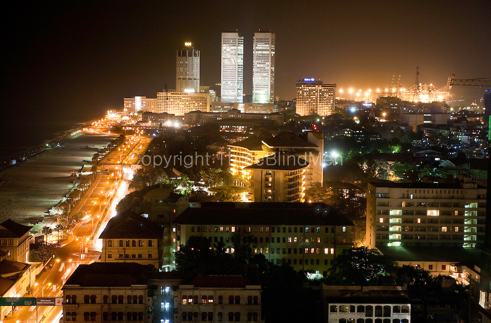 Colombo Skyline. Sri Lanka