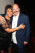 November 3, 2012- New York, NY:  (L-R) Linda Johnson Rice, Chairperson, Johnson Publishing Company and Media Personality Tom Joyner at the EBONY Power 100 Gala Presented by Nationwide held at Jazz at Lincoln Center on November 3, 2012 in New York City. The EBONY Power 100 Gala Presented by Nationwide salutes the country's most influential African Americans.(Terrence Jennings) .
