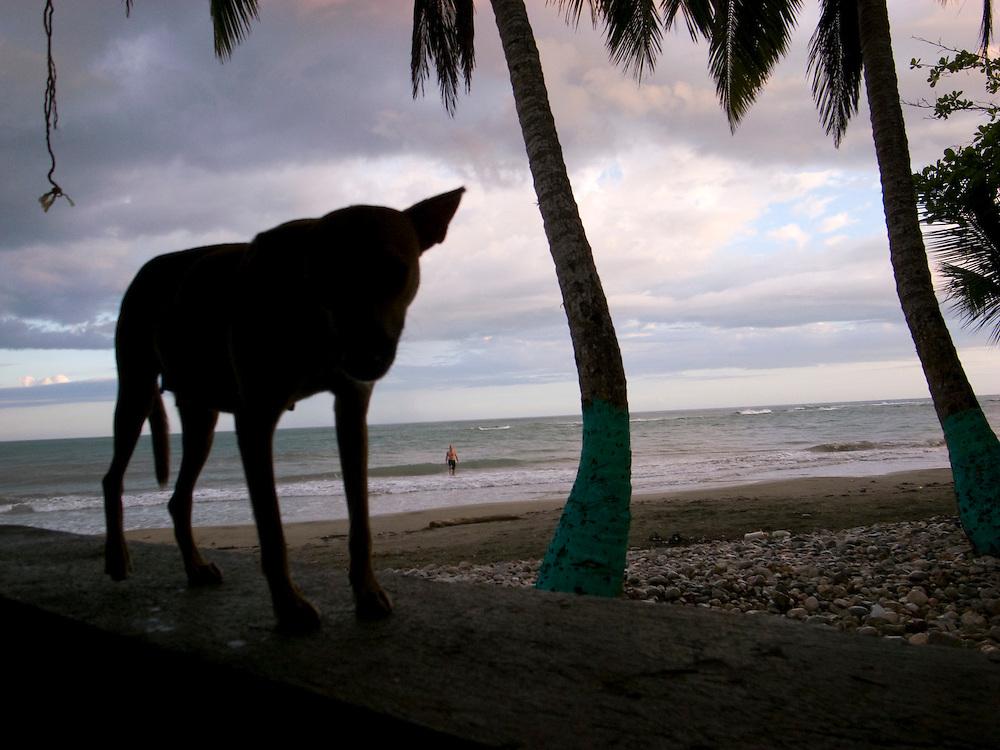 Public beach near Jacmel, Haiti. 11/1/2008. Photo by Ben Depp