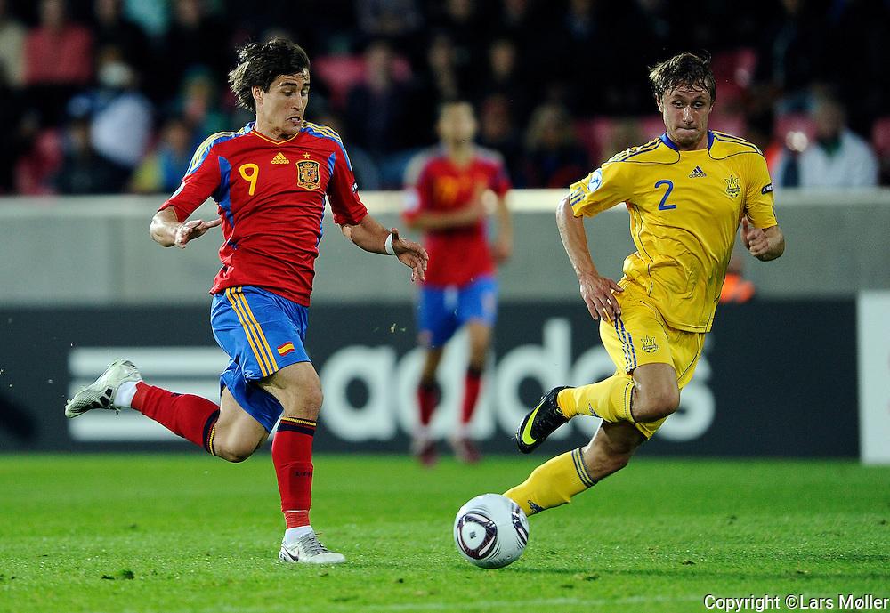 DK Caption:<br /> 20110619, Herning, Danmark.<br /> Fodbold UEFA U21 Euroropamesterskab:<br /> Ukraine-Spanien. Bojan Krkic, Spain.<br /> Foto: Lars M&oslash;ller<br /> <br /> UK Caption:<br /> 20110619, Herning, Denmark.<br /> Football UEFA U21 European Championship:<br /> Ukraine-Spain. Bojan Krkic, Spain.<br /> Photo: Lars Moeller