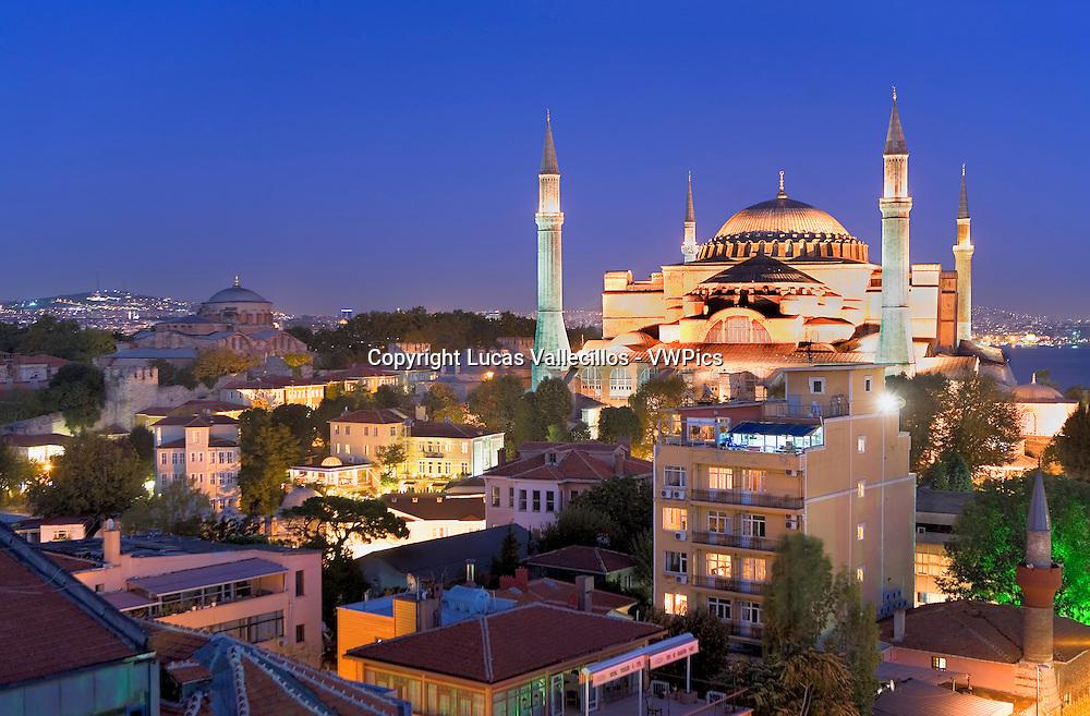 Hagia Sophia. Istanbul. Turkey
