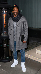 Karl 'Konan' Wilson  attends LCM a/w 2015: Christopher Raeburn and Mens Health Party at The Sanderson Hotel, Berners Street, London on Saturday 10 January 2015