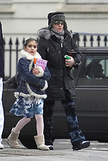 GUY RITCHIE, MADONNA AND 'LOLA' LEAVING THE KABBALAH CENTRE